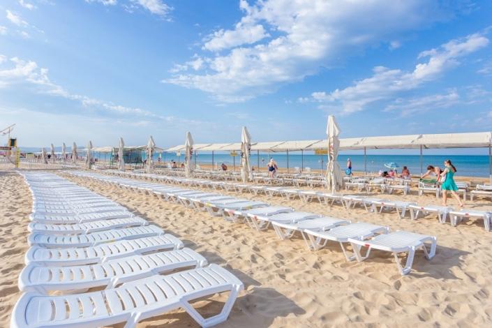 Пляж отеля Олимп