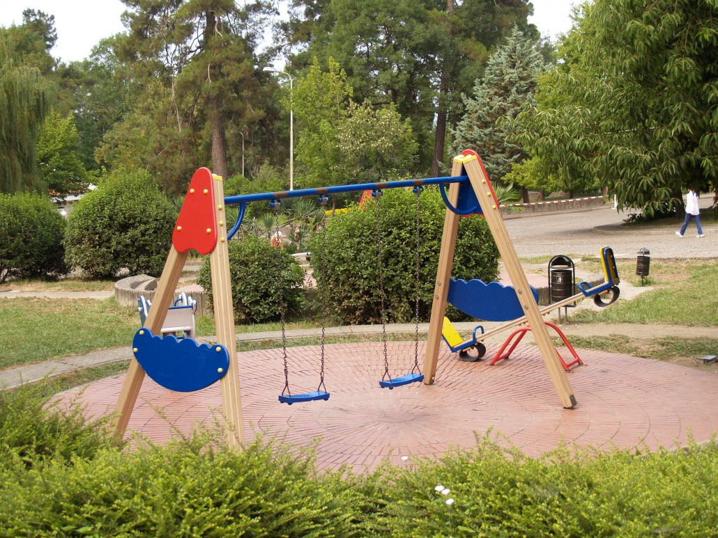 Детская игровая площадка на территории пансионата Олимпийский Дагомыс