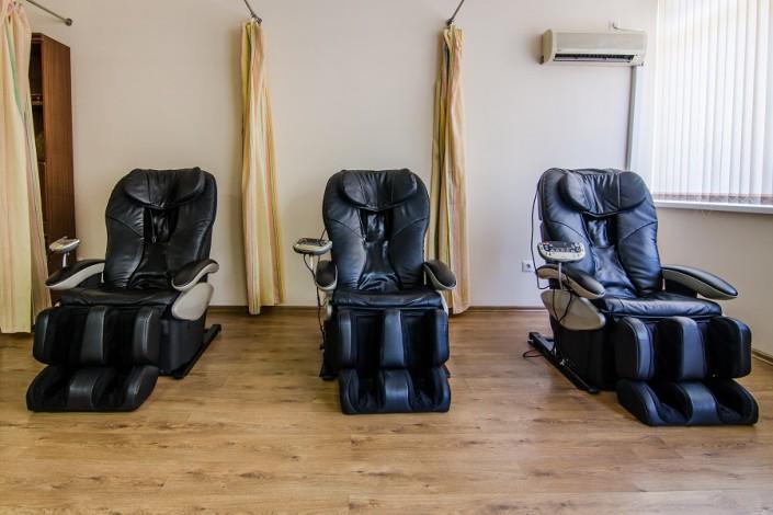Массажные кресла в пансионате Орбита-1