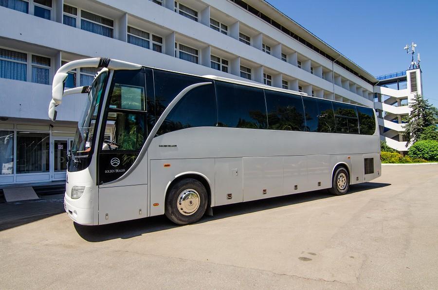 Автобус пансионата Орбита-1