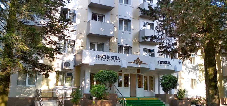 Отель Orchestra Crystal Sochi Resort, Сочи, Хоста