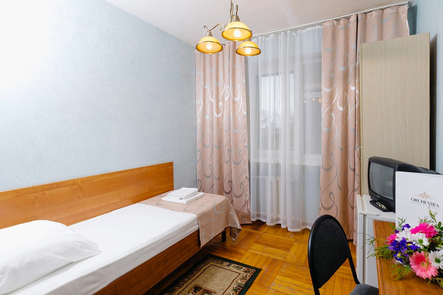 Стандартный одноместный номер в Корпусе 1 отеля Orchestra Crystal Sochi Resort