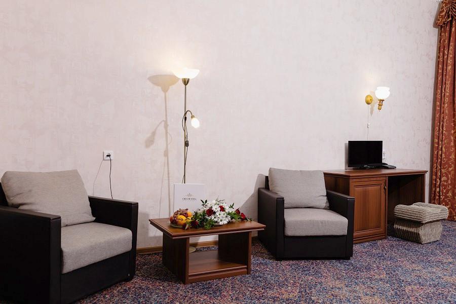 Студия трехместная в Корпусе 2 отеля Orchestra Crystal Sochi Resort