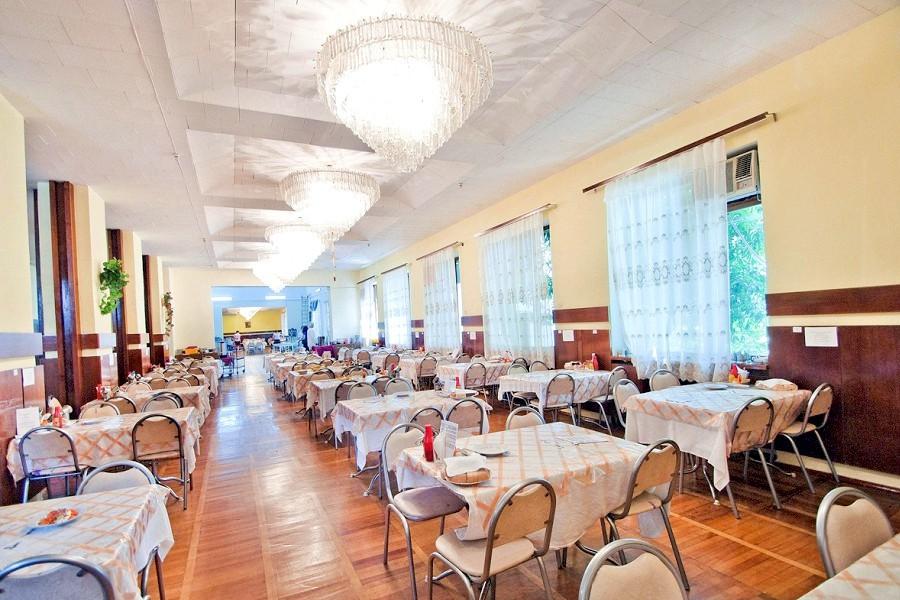 Столовая отеля Orchestra Crystal Sochi Resort