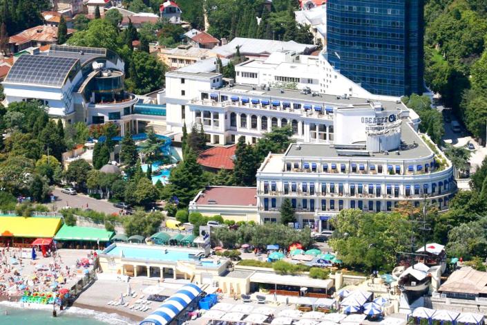 Отель Ореанда, Ялта, Крым