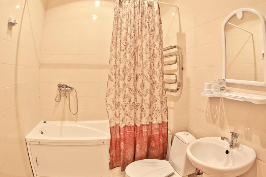 Туалетная комната номера Улучшенного номера в Корпусе № 7 санатория Орлиное гнездо