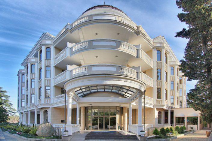 Спа-отель Острова на территории санатория Заполярье, Сочи