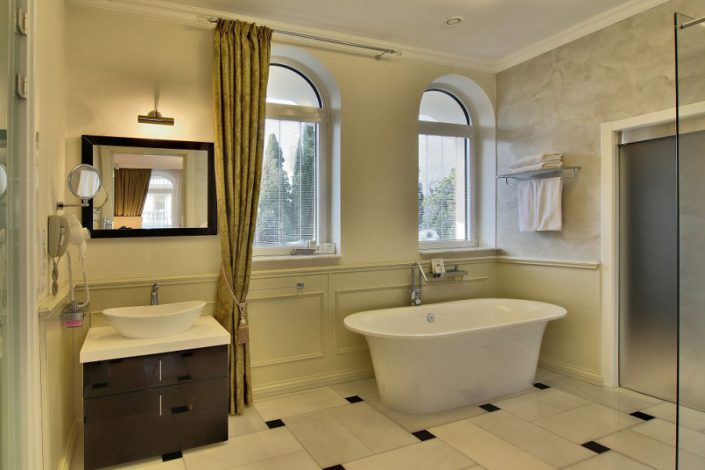 Ванная комната виллы Зеленая спа-отеля Острова, Сочи