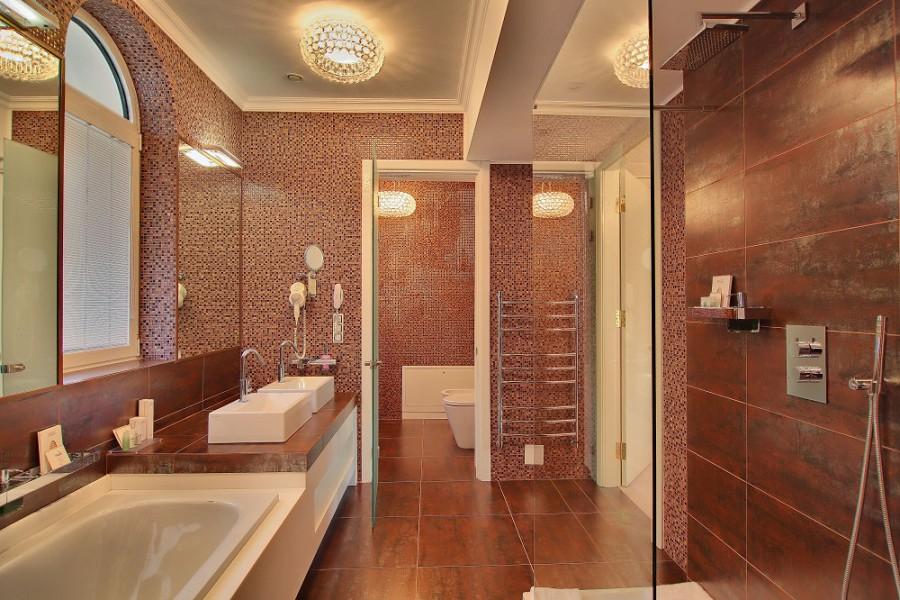 Туалетная комната виллы Лиловая спа-отеля Острова, Сочи