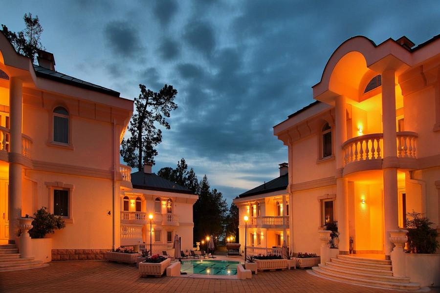 Виллы спа-отеля Острова на территории санатория Заполярье, Сочи