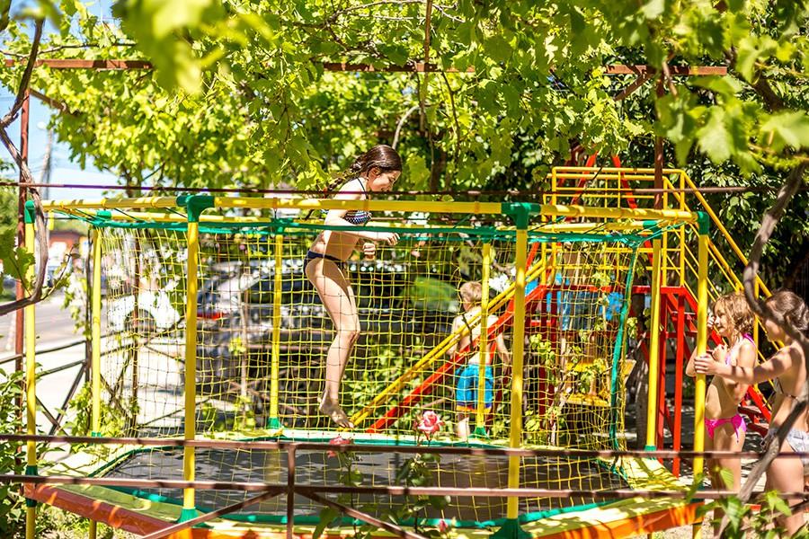 Детский игровой городок отеля Островок