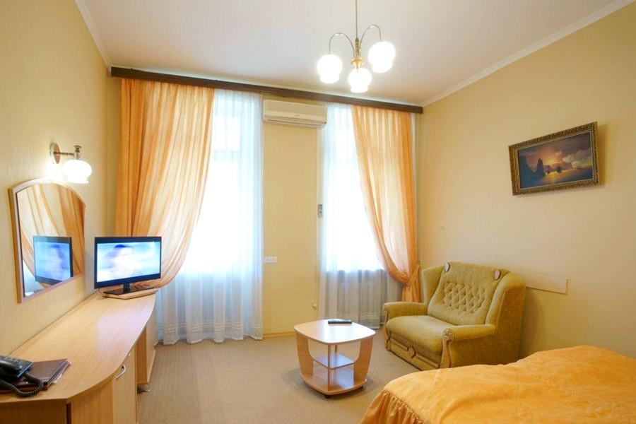 Стандарт Семейный двухместный гостиницы Палас
