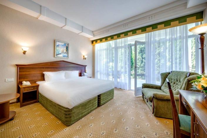Стандарт Комфорт двухместный с видом на парк отеля Palmira Palace