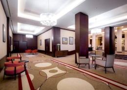Холл отеля Panorama by Mercure Красная Поляна