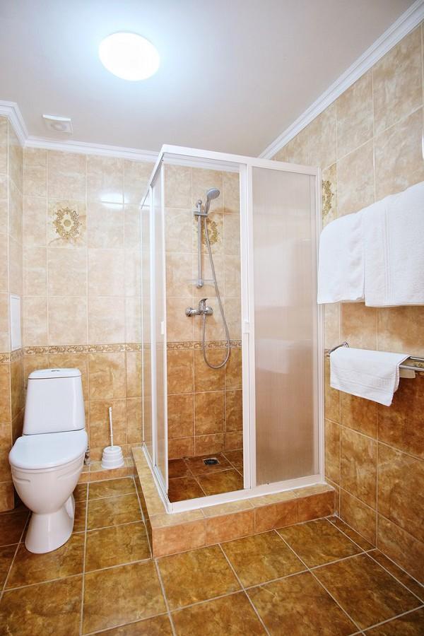 Туалетная комната Стандартного номера в отеле Папа