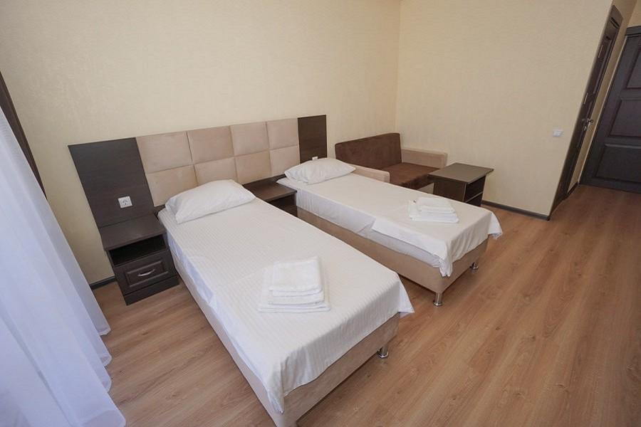 Стандартный номер с раздельными кроватями в Paradise Beach Hotel