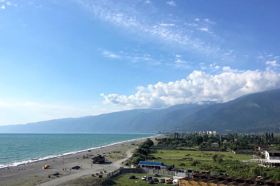 Вид с балкона Стандартного номера в Paradise Beach Hotel