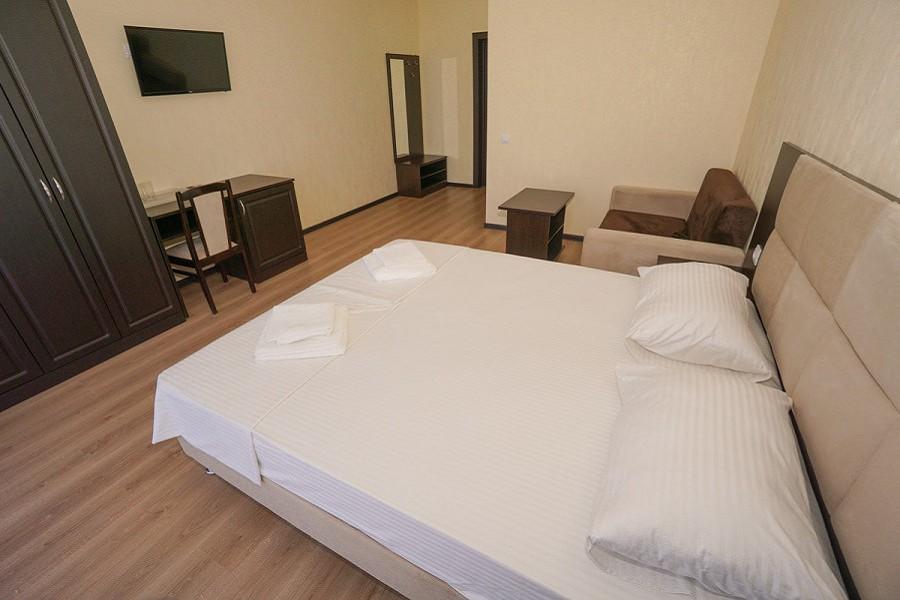 Стандартный номер с двуспальной кроватью в Paradise Beach Hotel