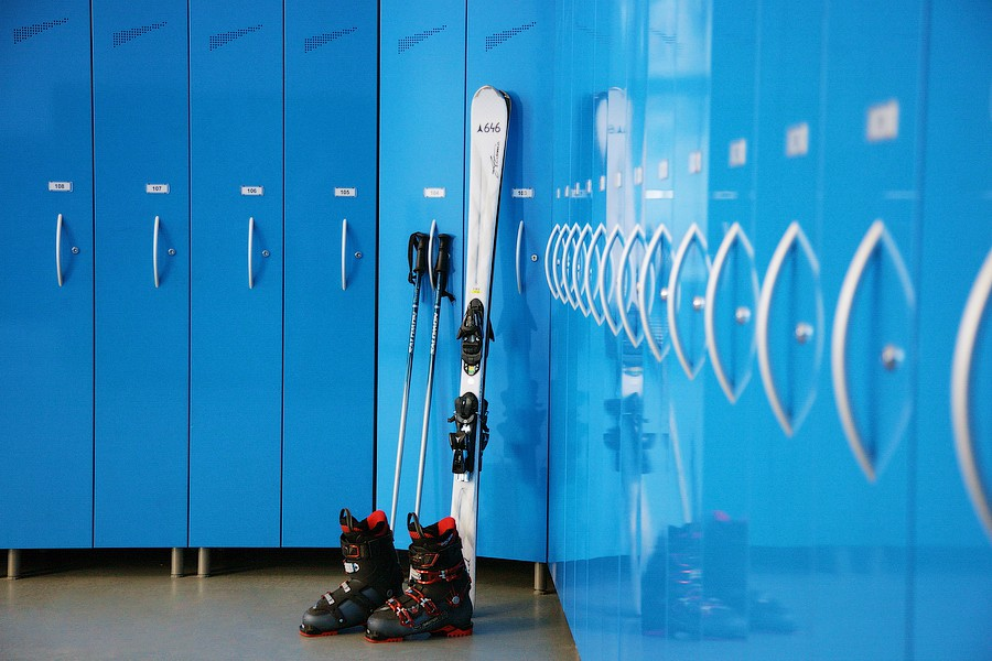 Комната для хранения горнолыжного снаряжения в Park Inn by Radisson Rosa Khutor