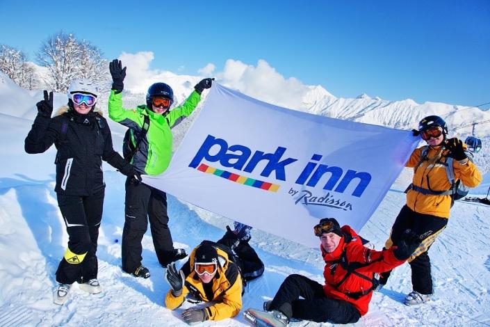 Добро пожаловать в Park Inn by Radisson Rosa Khutor, Красная Поляна, Сочи