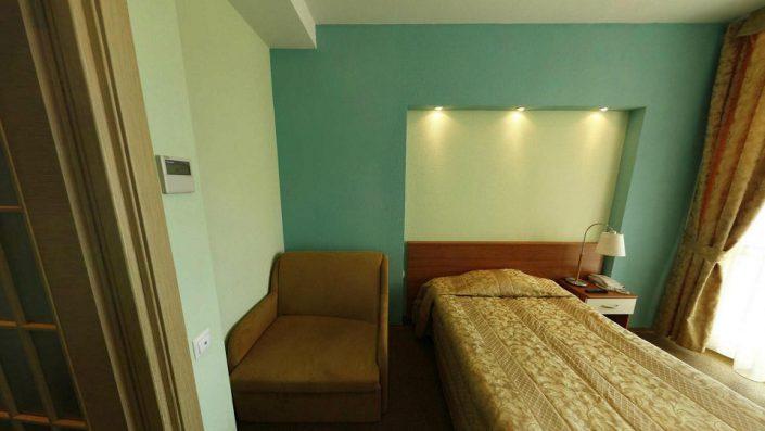 Стандарт одноместный в Главном корпусе гостиничного комплекса Парус