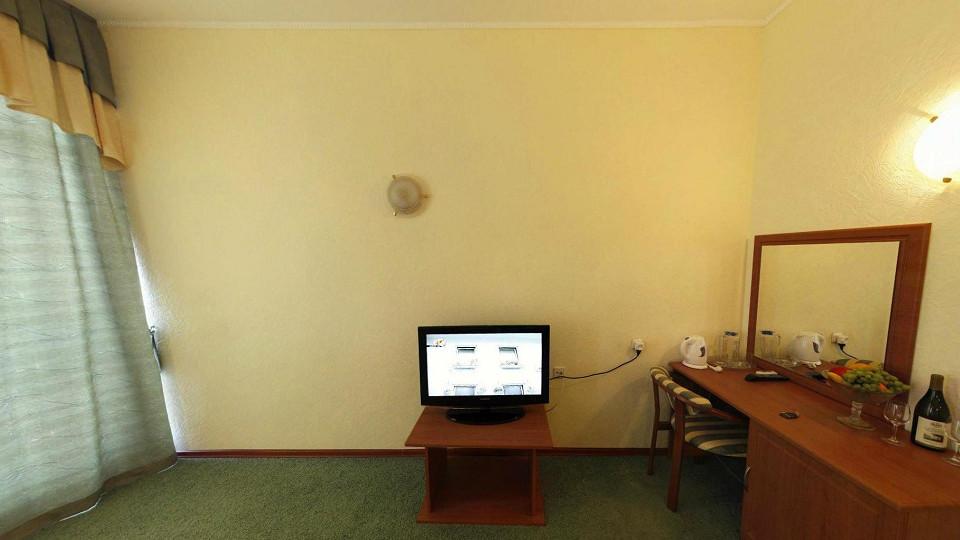 Номер Студия в Приморском корпусе гостиничного комплекса Парус