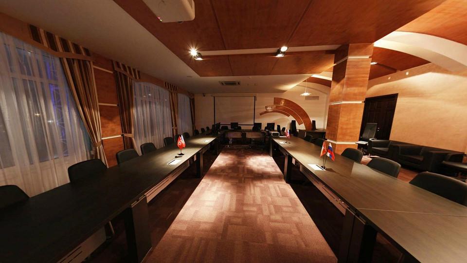 Конференц-зал Меркурий гостиничного комплекса Парус
