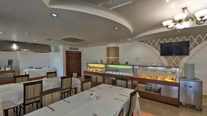 Ресторан Бригантина в Главном корпусе гостиничного комплекса Парус