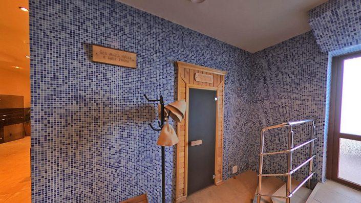 Баня в Приморском корпусе гостиничного комплекса Парус