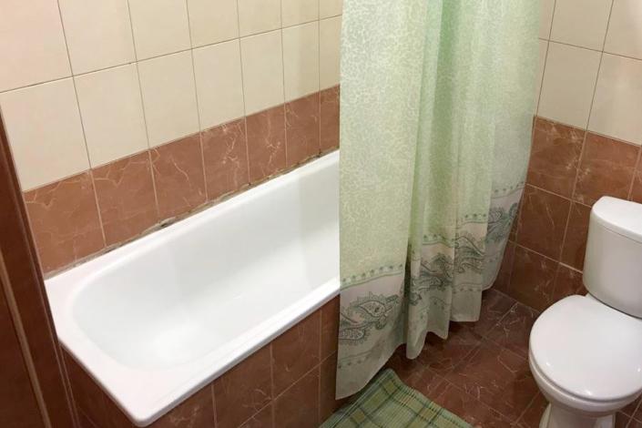 Туалетная комната Стандартного номера пансионата Парус