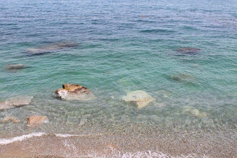 Пляж санатория Парус