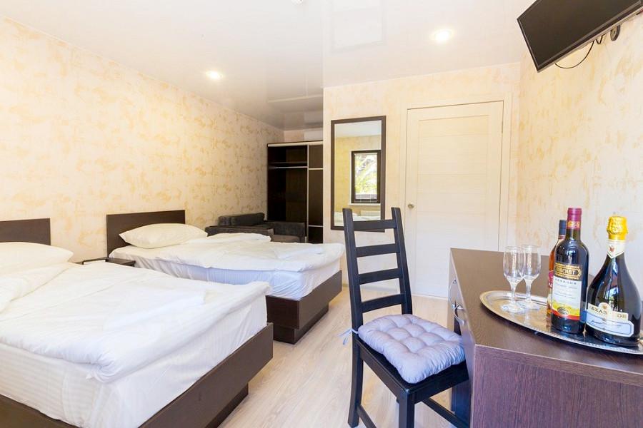 Стандартный двухместный номер гостевого дома Pekan