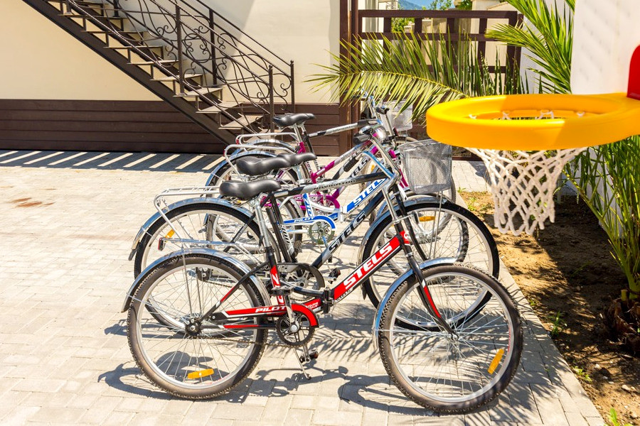 Прокат велосипедов гостевого дома Pekan