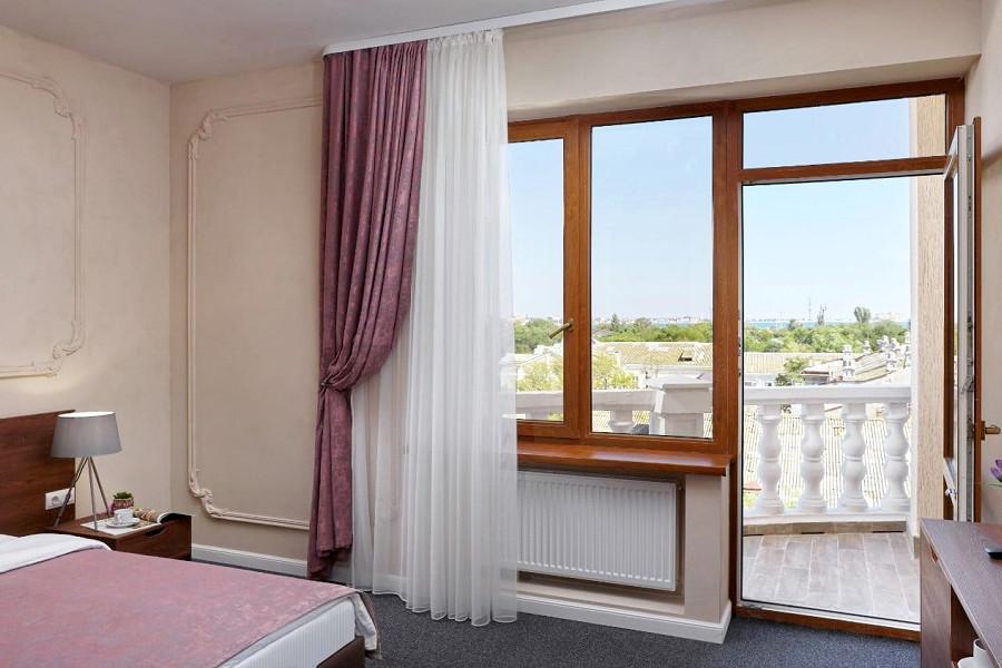 Клубный двухместный с балконом в отеле Петр