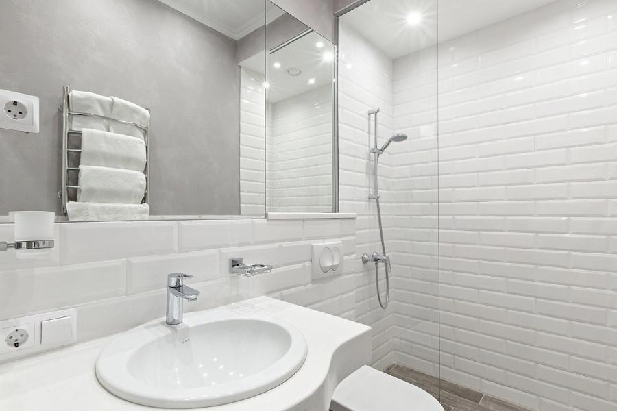 Туалетная комната номера Полулюкс двухкомнатный в отеле Петр