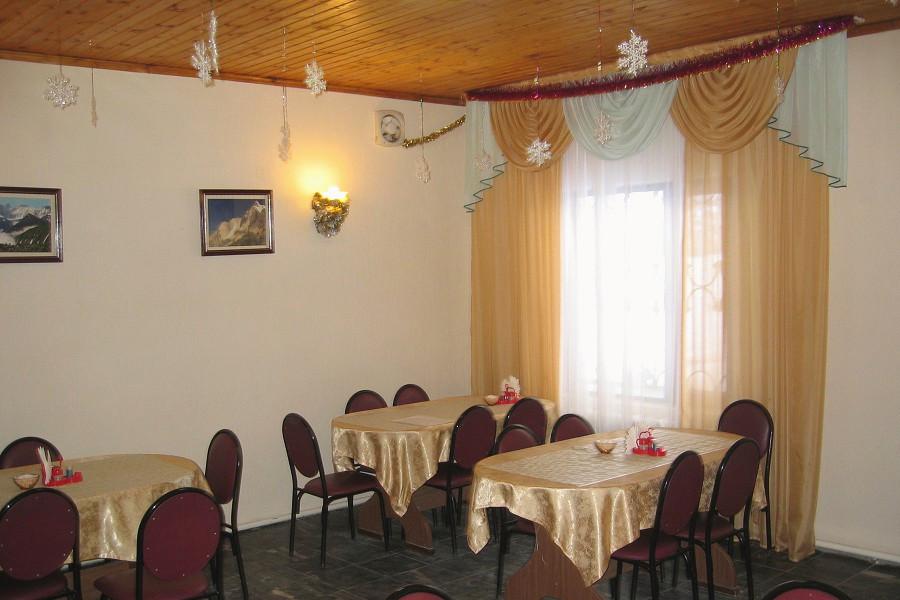Кафе отеля Пирамида, Красная Поляна, Сочи