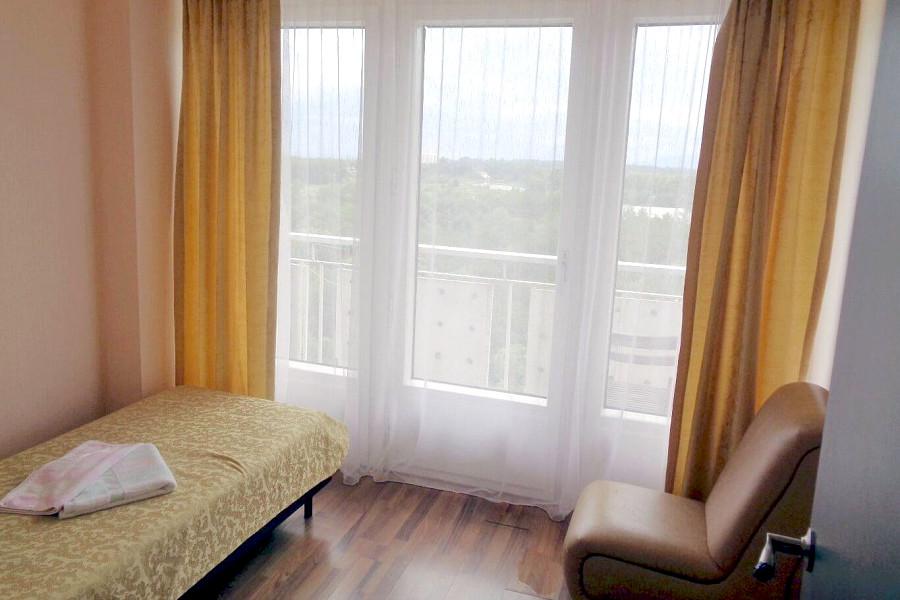 Улучшенный одноместный номер дома отдыха Питиус, Пицунда, Абхазия
