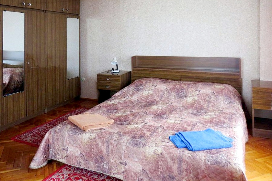 Люкс двухместный двухкомнатный дома отдыха Питиус, Пицунда, Абхазия