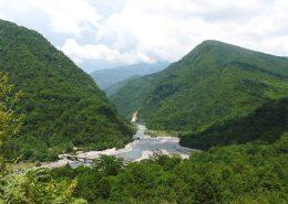 Ущелье реки Гумиста, Абхазия