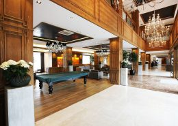 Холл гостиничного комплекса Поляна 1389 Отель и Спа, Красная Поляна, Сочи