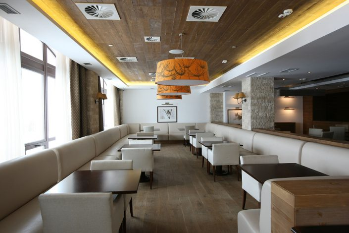 Ресторан Панорама гостиничного комплекса Поляна 1389 Отель и Спа, Красная Поляна, Сочи