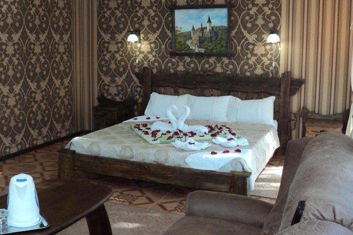 Делюкс двухместный парк-отеля Прага
