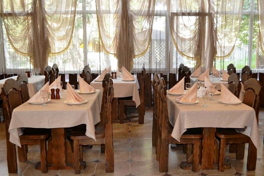 Ресторан парк-отеля Прага