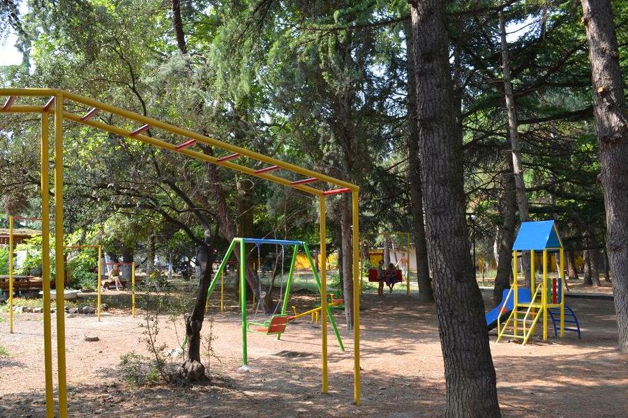 Детский городок парк-отеля Прага