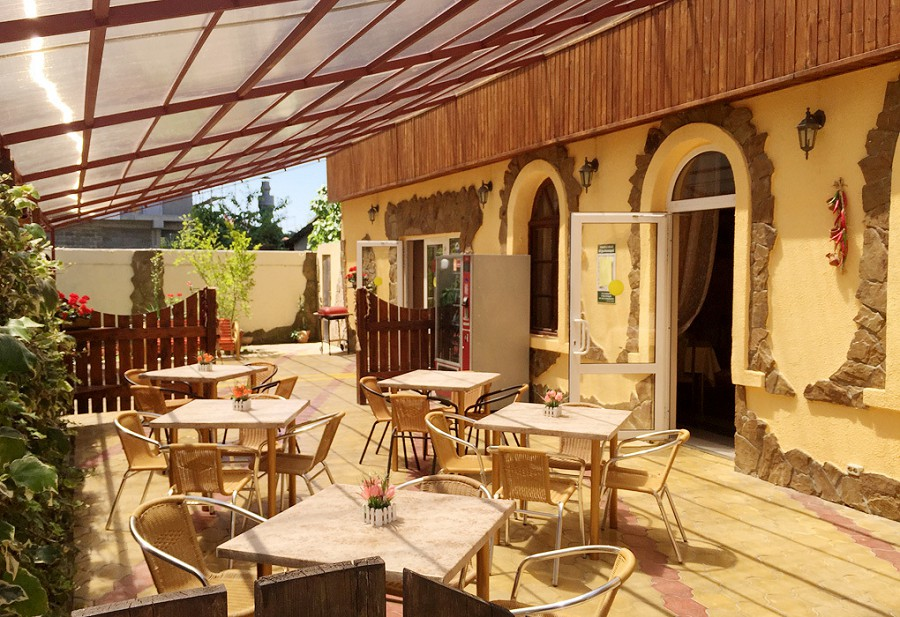Кафе пансионата ПримаВера, Сочи