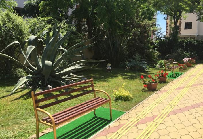 Территория пансионата ПримаВера, Сочи