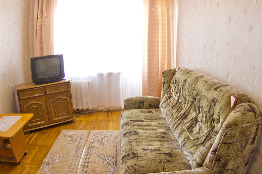 Стандарт двухместный двухкомнатный в Главном корпусе санатория Приморский