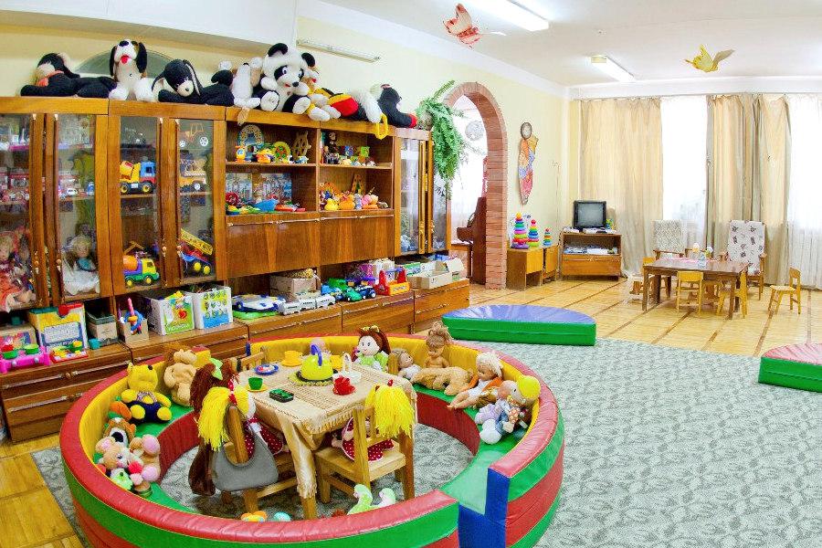 Детская комната санатория Приморье