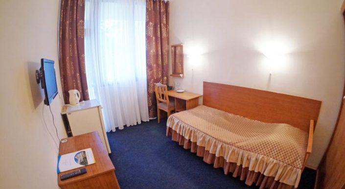 Одноместный однокомнатный номер 1 категории (К1А) гостиницы Приморская