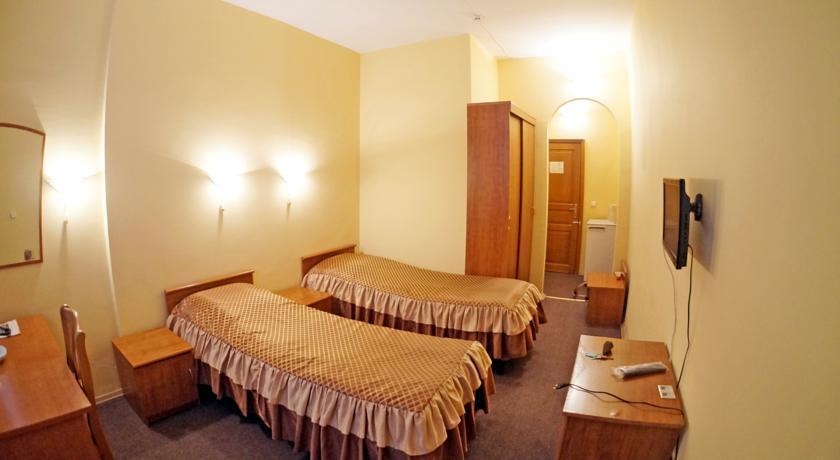 Двухместный однокомнатный номер 1 категории (К2А) гостиницы Приморская